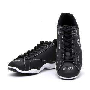 ピロティ プロトティーポ ドライビングシューズ ブラック(Piloti Prototipo Black leather)(バイク用品 ドライブシューズ メンズ イタリア 靴 ドライビング|motormagazine