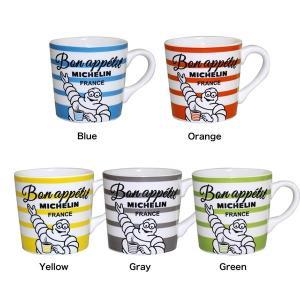 ミシュラン マグカップ / ストライプ(MICHELIN Mug Stripe)(あすつく対応/まとめ買いで送料無料)|motormagazine