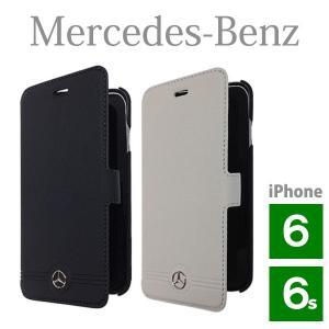 メルセデス・ベンツ 本革 ブックタイプケース フロントグリル (iPhone 6/6S用) Pure Line Genuine leather Front Grill Booktype case(送料無料)|motormagazine