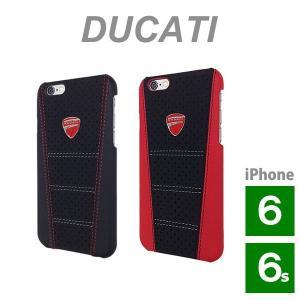 ドゥカティ iPhone 6 Plus/6S Plus用本革ハードケース (Ducati Genuine Leather Hard case)(まとめ買いで送料無料) motormagazine