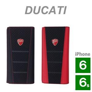 ドゥカティ iPhone 6/6S/汎用 本革ウォレットタイプケース (Ducati Genuine Leather Wallet Type case)(送料無料) motormagazine