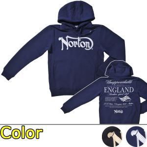 ノートン(Norton)ベーシック 裏起毛 プルパーカー(送料無料/あすつく対応)|motormagazine