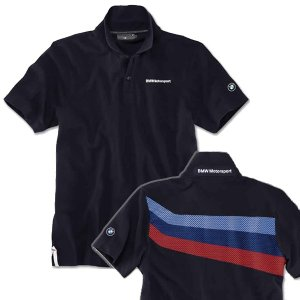 BMW MOTORSPORT ファン Tシャツ(メンズ) ポロ(送料無料)|motormagazine