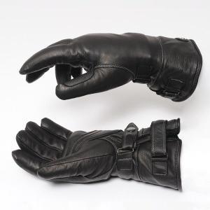 ウインターバイクグローブ カカザン(CACAZAN)BAZOOKA-004 ブラック(バイク用グローブ用グローブ バイク用品 てぶくろ 手袋 防寒 ライダー)(送料無料)|motormagazine