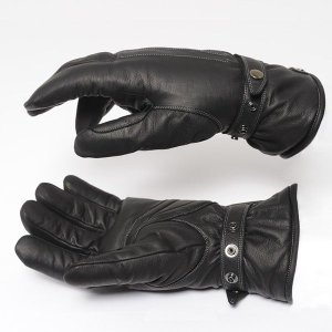 ウインターバイクグローブ カカザン(CACAZAN)BAZOOKA-005 ブラック(バイク バイク用品 手袋 グローブ てぶくろ メンズ バイクグローブ 皮)(送料無料)|motormagazine
