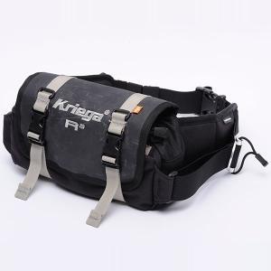 クリーガ(Kriega)ウエストパック R3(ライディング 防水バッグ ウォータープルーフバッグ ツーリング ライダー かばん 防水)(送料無料)|motormagazine