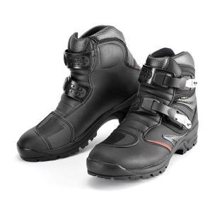 GAERNE(ガエルネ)ライディングブーツ タフギア ブラック(ライディングシューズ 靴 くつ シューズ バイク用品 ブーツ メンズ バイク ライディングブーツ)|motormagazine