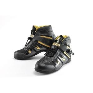 SIMPSON Riding Shoes SPS-101(シンプソン ライディングシューズ SPS-101)ゴールド motormagazine