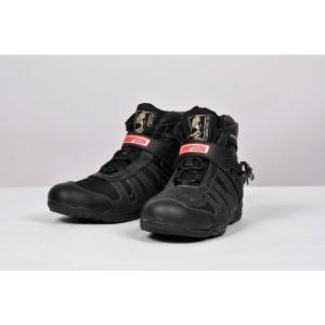 SIMPSON Riding Shoes SPS-101(シンプソン ライディングシューズ SPS-101)ブラック motormagazine
