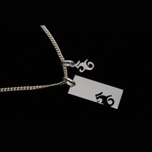 56design Silver Plate Necklace(シルバープレートネックレス)小|motormagazine