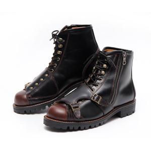 MaxFritz×GOGGLEコラボ ダブルチェンジパッドブーツGOGGLEリミテッド(メンズ ブーツ 靴 くつ クツ シューズ 防寒 アメカジ)(送料無料/あすつく対応)|motormagazine