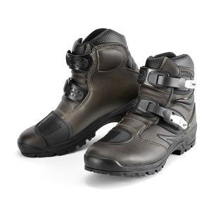 GAERNE(ガエルネ)ライディングブーツ タフギア ブラウン(ライディングシューズ 靴 くつ シューズ バイク用品 ブーツ メンズ バイク)|motormagazine