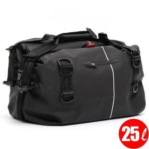 防水バッグ ツーリングバッグ TTPL touring25 マットブラック(完全防水バッグ シートバッグ)(送料無料/あすつく対応)|motormagazine