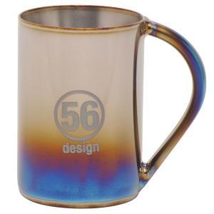 56design x SPIRA(スピーラ)中空二重チタンマグカップ|motormagazine