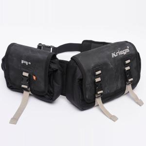クリーガ(Kriega)ウエストパック R8(バイク専用バッグ ウエストバッグ バッグ ツーリング バイク用品 防水 ウォータープルーフ)(送料無料)|motormagazine