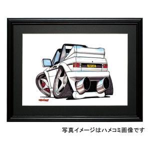 イラスト ゴルフI(カブリオレ・白)|motorparade