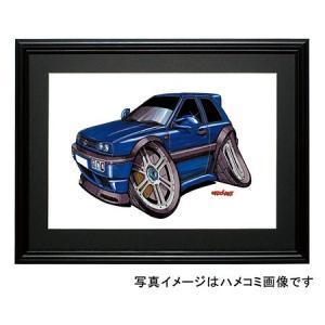 イラスト ゴルフIII(丸目4灯・青)|motorparade