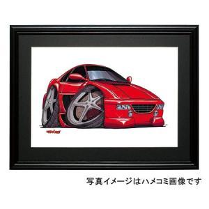 イラスト フェラーリF355|motorparade