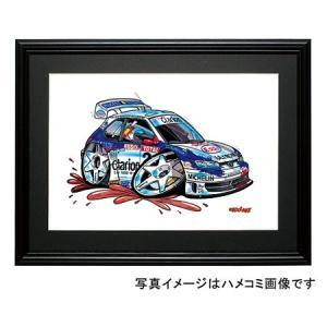 イラスト プジョー306(MAXIラリー・NO.2)|motorparade