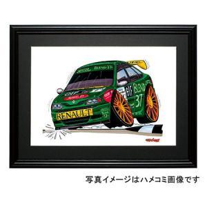 イラスト ラグナ(1998BTCC・緑)|motorparade