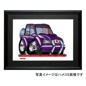 イラスト エスクード(初代・紫)|motorparade