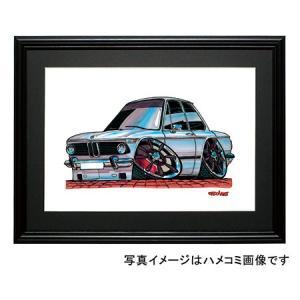 イラスト BMW 2002(白)|motorparade