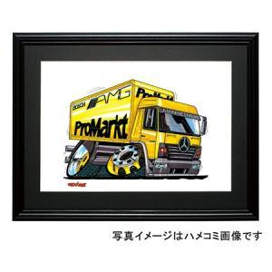 イラスト メルセデス・トラック(ATEGO)|motorparade