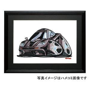 イラスト マクラーレンGTR(黒)|motorparade
