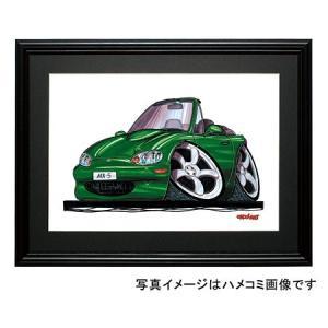 イラスト マツダ・ロードスター(NB・緑)|motorparade