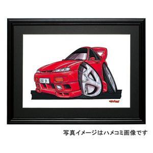イラスト シルビア(S14・赤)|motorparade