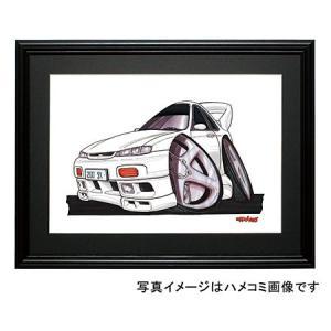イラスト シルビア(S14・白)|motorparade
