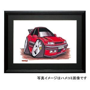 イラスト プジョー309GTI(赤)|motorparade