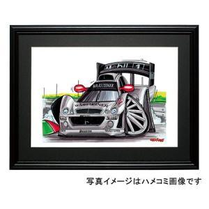 イラスト メルセデスCLK-LM(銀)|motorparade