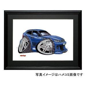 イラスト BMW Z3 クーペ(青)|motorparade