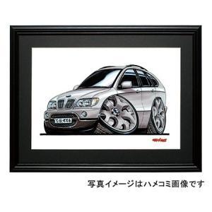 イラスト BMW X5(横)|motorparade