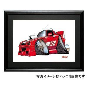 イラスト カマロZ28(赤)|motorparade