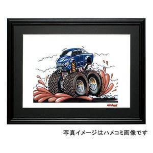 イラスト プロシード モンスタートラック|motorparade