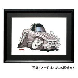 イラスト 300SL(クーペ)|motorparade