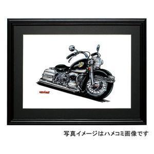 イラスト HARLEY ELECTRA GLIDE(黒)|motorparade