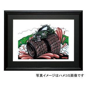 イラスト ハイラックス(RN36・緑)|motorparade