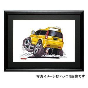 イラスト HR−V(黄)|motorparade