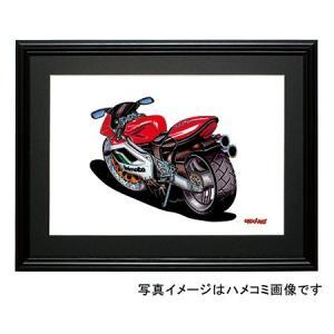 イラスト BIMOTA 500V due(赤/白)|motorparade