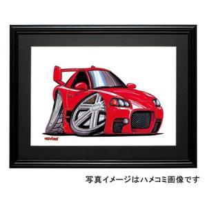 イラスト GTO(赤・後期)|motorparade