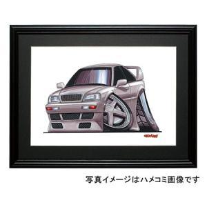 イラスト アウディ80クーペ(銀)|motorparade
