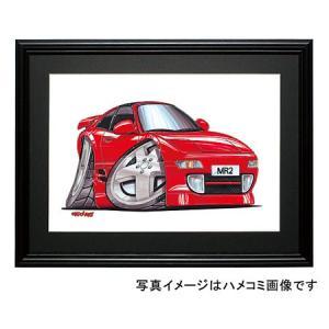 イラスト MR−2(SW20・赤)|motorparade