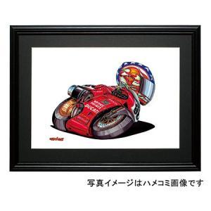 イラスト DUCATI 998(B・BOSTROM)|motorparade
