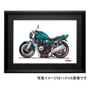 イラスト XJR1300(緑)|motorparade