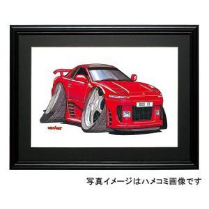 イラスト GTO(赤・前期)|motorparade