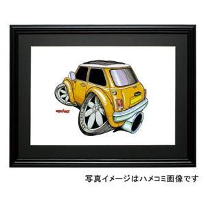 イラスト ミニ(マスタード・後ろ)|motorparade
