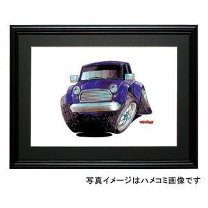 イラスト ミニ(青・前)|motorparade